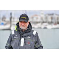 Le skipper Jean-Luc Van Den Heede
