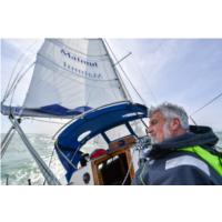 Jean-Luc Van Den Heede sur le voilier Matmut