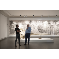 Quentin Garel & Daniel Havis, Président de la Matmut - Centre d'art contemporain Matmut
