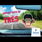 Affiche offre auto 4D
