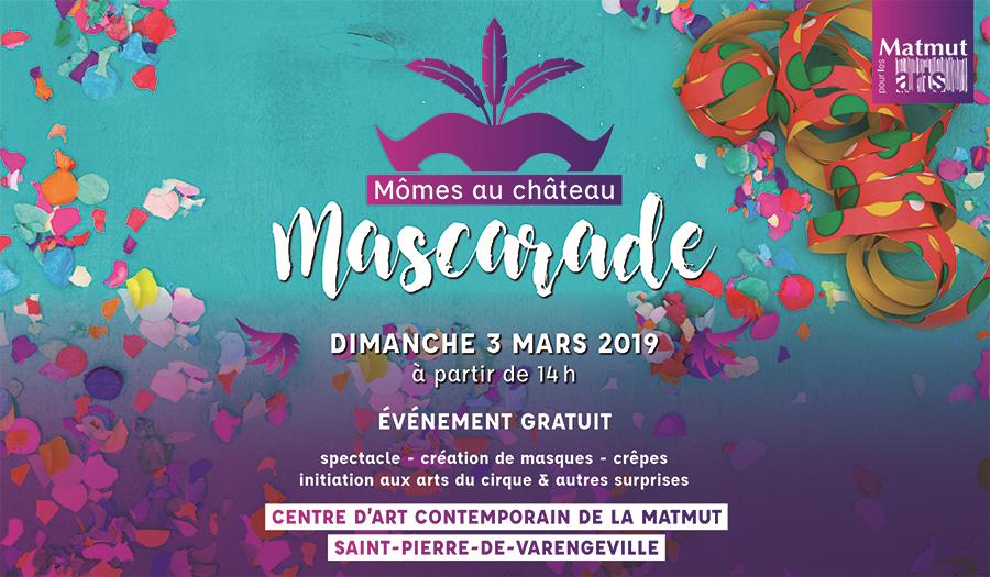 Affiche événement Mascarade