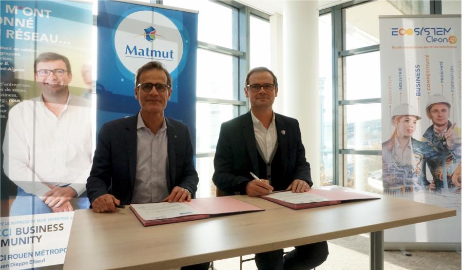 Signature convention Matmut / CCI Rouen Métropole