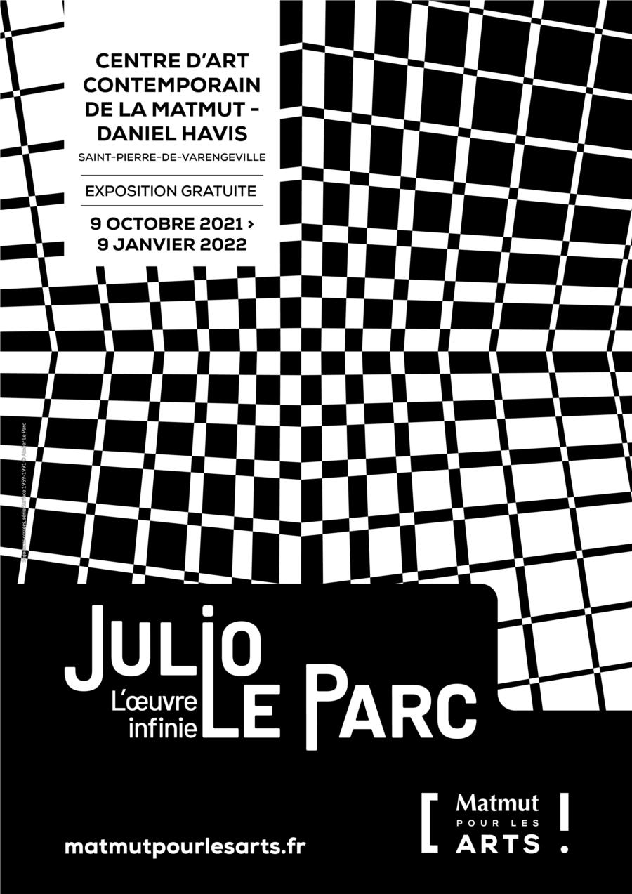 Affiche Expo Julio Le Parc